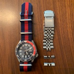 Seiko Automatic Divers Watch w/ Nato Band